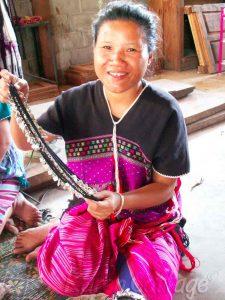 Karen Hill Tribe silversmith